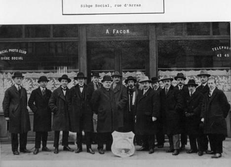Le Club en 1925
